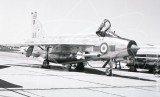 XS936 - English Electric Lightning F.6 at Malton in 1968