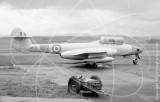 WA709 - Gloster Meteor T.7 at Turnhouse in 1962