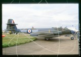VZ647 - Gloster Sea Meteor T.7 at Unknown in 1989