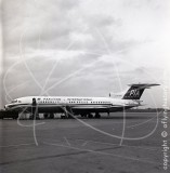 AP-ATK - Hawker Siddeley Trident 1E at Karachi Airport in 1968