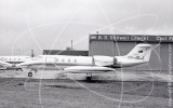VH-SLJ - Learjet Learjet at Essendon in 1978
