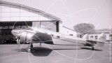 F-BFUD - Lockheed 12 Electra Junior at Nice in 1961