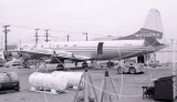 CF-IJV - Lockheed Electra L-188 A at Long Beach in 1971