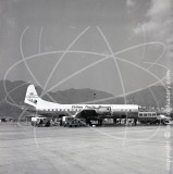 VR-HFO - Lockheed Electra L-188 at Kai Tak Hong Kong in 1959