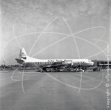 VR-HFO - Lockheed Electra L-188 at Singapore in 1959
