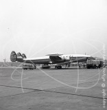 D-ALOP - Lockheed Super Constellation at Frankfurt in 1959