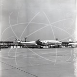 D-ALOP - Lockheed Super Constellation at Gatwick in 1965