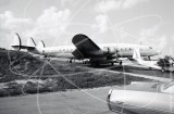 N6207C - Lockheed Super Constellation L-1049 at Fort Lauderdale in 1975