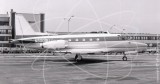 N8000U - North American Sabreliner at La Guardia in 1971
