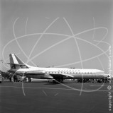 I-DABP - Sud Aviation SE 210 Caravelle III at Nice in 1966