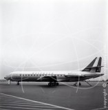 I-DABU - Sud Aviation SE 210 Caravelle at Nice in 1966