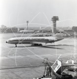 TS-IKM - Sud Aviation SE 210 Caravelle at Marseille in 1962