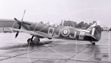 AB910 - Supermarine Spitfire at Baginton in 1957