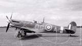 AR213 - Supermarine Spitfire at Wycombe in 1972