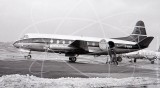 G-AMOA - Vickers Viscount 701 at Southend in 1965