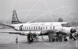 G-AVHE - Vickers Viscount V812 at Munich in 1969