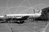 N7412 - Vickers Viscount V745 at Mobile, Alabama in 1980