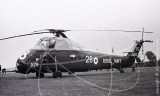 XP116 - Westland Wessex at Odiham in 1966